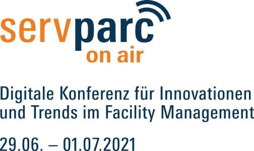 Logo der Servparc on air