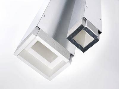 Die RAUTHERMO Kanäle und Formteile sind einbaufertige Bausteine, die nicht erst zeitaufwändig auf der Baustelle aus Plattenmaterial hergestellt werden müssen