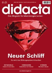 Titelblatt des didacta Magazin 1/2021