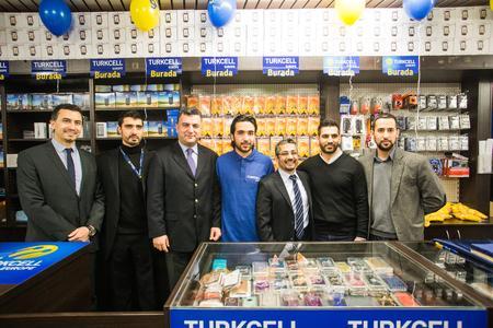 Turkcell Europe Flagship-Store Eröffnung