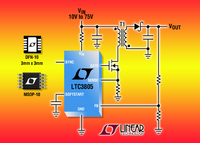 Low Start-up Current Wide VIN Range Current Mode Flyback DC/DC Controller
