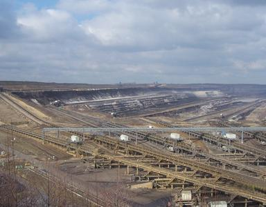 Der Tagebau bei Garzweiler