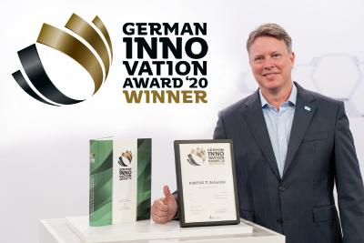 HARTING T1 Industrial SPE Interface gewinnt German Innovation Award 2020