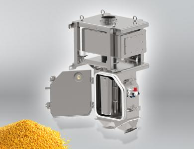 In the plastics industry, especially for granulate and compound producers, the RAPID PRO-SENSE 6 metal separator guarantees that metals are reliably detected and separated from the production process. It thus avoids machine damage, downtimes, and metal inclusions in the end product that might lead to complaints.