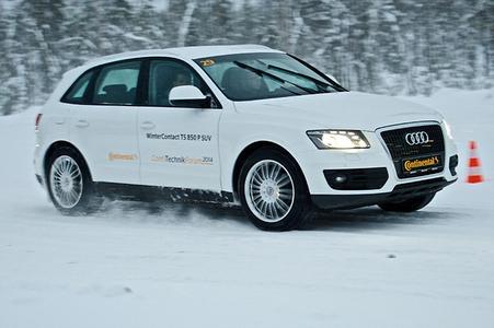 ContiWinterContact TS 850 überzeugt beim ADAC-Winterreifentest in 16 Zoll mit bester Ausgewogenheit