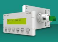 Raumwunder: Die Kompaktsteuerung SMI200 erlaubt dank der RS485-Schnittstelle die Installation mehrerer ihrer Art nebeneinander auf einer Schalttafel oder einer Schaltschranktür