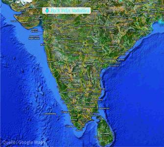 Der Standort von Bock India im Außenbezirk der Stadt Vadodara im Bundesstaat Gujarat im Nordwesten Indiens