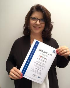 primion is the first supplier to receive ISO/IEC - 27001 certificate for information security management
