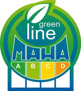MAHA Green Line Logo