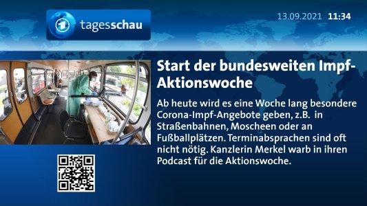 tagesschau-Nachrichten im ARD-News-Plugin für FrontFace