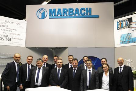 Marbach Standbesatzung auf der Fachpack 2015