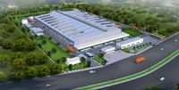 3D view of the planned production plant in Supa, India