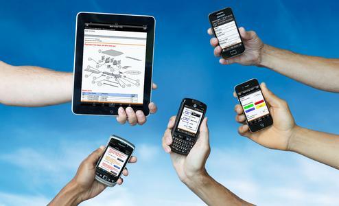 Vanderlande MMS mobile devices