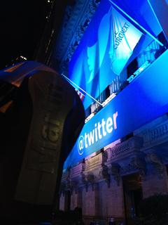 @Martin_Global (HARMAN's Martin Professional) Lights Up New York Stock Exchange For Twitter Opening Day