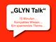 "Embedded World 2016 - ""GLYN Talk"" präsentiert ""Chips mit Grips"""