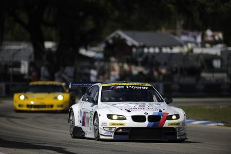 Sebring (USA), Joey Hand (USA), Dirk Müller (DEU), Jonathan Summerton (USA), No 56, BMW Team RLL, BMW E92 M3, American Le Mans Series, Twelve Hours of Sebring (Foto: BMW AG)