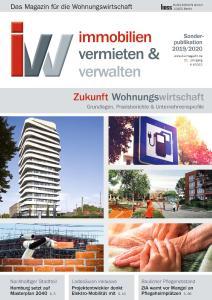Wohnungswirtschaft 2019/2020 Titelbild / Bildcredit: Zukunft Wohnungswirtschaft 2019/2020 / Titelbild /HUSS-MEDIEN