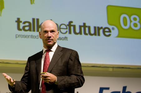"Andrew McAfee, Harvard Professor und ""Godfather of Enterprise 2.0"", bei ""talk the future®"" in Krems"