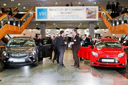 """Experten diskutieren Werkstoffentwicklungen in der Automobilindustrie bei der diesjährigen Tagung """"Kunststoffe im Automobilbau"""" am 13. und 14. März 2013 in Mannheim (Bild: VDI Wissensforum)"""