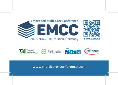 #EMCC – 2nd Embedded Multi-Core Conference in Munich