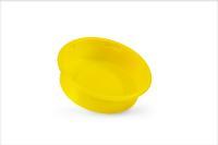 Neu von Pöppelmann KAPSTO®: Thermogeformter Eco-Universalschutz GPN 400 aus Polystyrol (PS) in der Signalfarbe Gelb