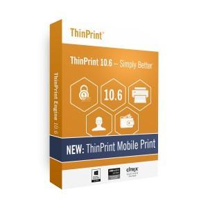 Die neue Version ThinPrint 10.6 ermöglicht lokales iPhone- und iPad-Drucken aus jeder Windows-Session