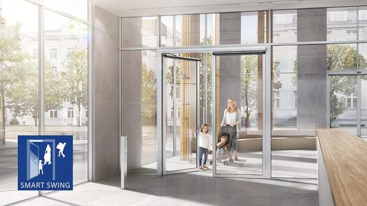 """Innovative Systemlösungen für Türen und Fenster für den vorbeugenden Brandschutz Fachvortrag über """"Die multifunktionale Tür"""" /  Foto: GEZE GmbH"""