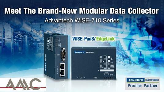 WISE-710 Datenerfassungs-Gateway für Edge-IIoT-Anwendungen für Maschinen & Anlagen Monitoring