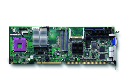 PICMG® 1.0 Full-size SBC with Mobile Processor and Chipset featuring Extended Temperature Support