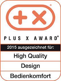 Plus X Award für das E560A