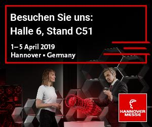 Hannover Messe 2019 - Stand C51 in Halle 6