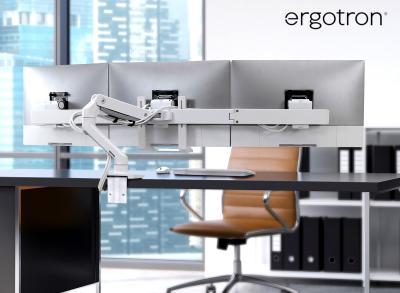 Ergotron 3-fach Monitorhalterung