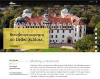 Startseite der Internetpräsenz Residenzmuseum