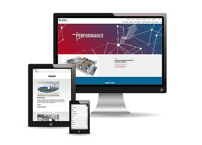 New Internet website for the KBA Group