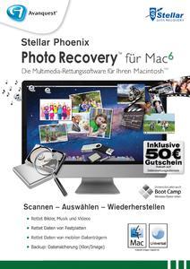 Rettung für gelöschte Fotos: Stellar Phoenix Photo Recovery v6 (Mac)