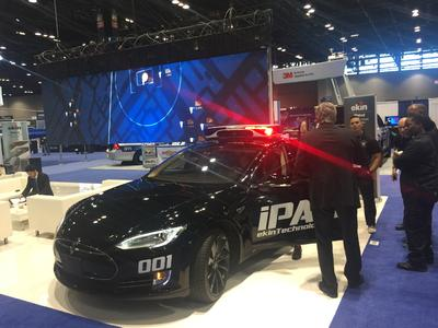 """Ekin Technology makes a hit in the Middle East and United States with the world's very first """"smart patrol"""""""