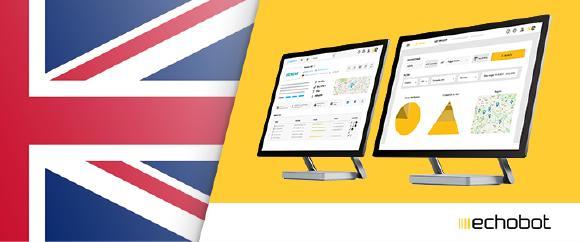 Echobot starts international expansion in Great Britain (UK)