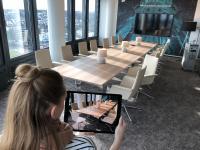 Dank Augmented Reality können Möbel direkt einfach in den Raum projiziert werden!