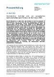 [PDF] Pressemitteilung: Gerresheimer beteiligt sich am europäischen Gemeinschaftsprojekt Furnace for the Future (F4F)