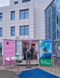 Foto: Messe Erfurt GmbH (Metal-free Redox Flow Battery Container von Jena Batteries)