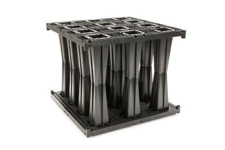 Die neue RAUSIKKO Box SX bietet auch unter beengten Platzverhältnissen eine optimale Speicherkapazität für Niederschläge. Foto: REHAU