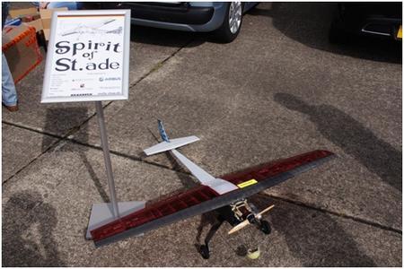 Spirit of Stade Flugzeug