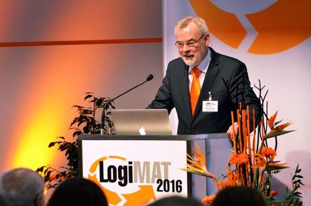 Opening ceremony of LogiMAT 2016
