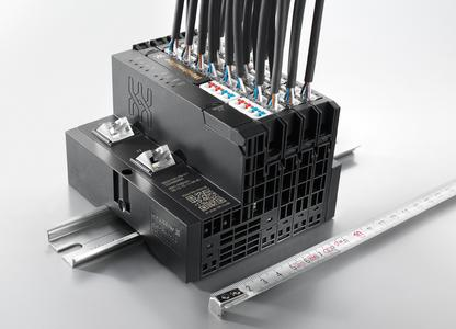 "Weidmüller ""u-remote"" at Hannover Messe 2014: A never-before-seen performance density is achievable with the new HD modules from Weidmüller's innovative I/O system ""u-remote"". No other system is currently able to guarantee such compact connections between the sensors/actuators and control"