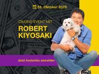 Online-Event mit genialem Finanzguru Robert Kiyosaki