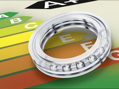 Kühlkompressoren können mit Hilfe des energieeffizienten FAG-Axial-Kugellagers um eine Energieeffizienzklasse besser eingestuft werden