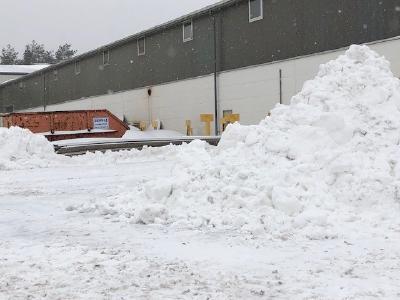 Winter Impressionen aus dem Dehoust Werk in Nienburg