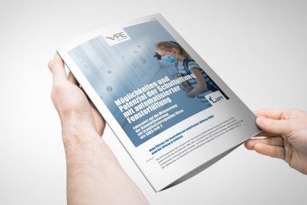 """Whitepaper: """"Wissenschaftlich belegt – effiziente Raumlüftung in Schulen per automatisierter Fensterlüftung"""" © Verband Fensterautomation und Entrauchung e. V."""