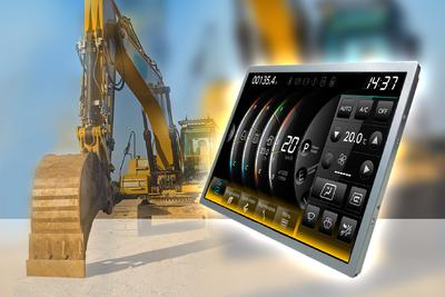 MSC Technologies offers extremely robust TFT displays from Mitsubishi with high vibration resistance