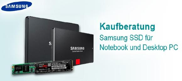 SSD Kaufberatung für Notebooks und Desktop PCs